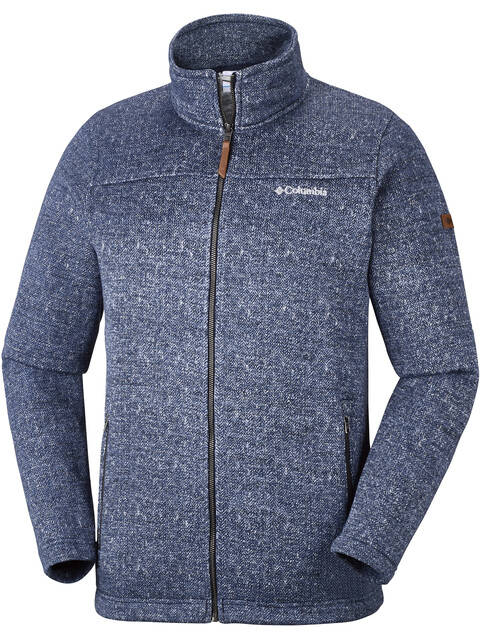 Columbia Boubioz Full Zip Fleece Jacket Men Collegiate Navy